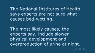 [91VOA]Dealing With Children's Bed Wetting