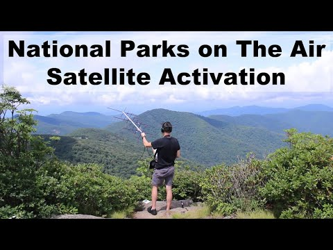 National Parks on The Air - Satellite Activation  - Blue Ridge Parkway