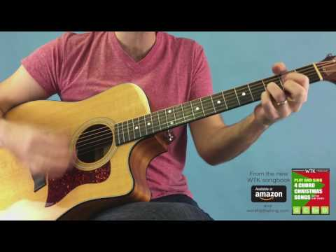 Easy Chord Jingle Bells on Guitar