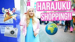 SHOPPING IN HARAJUKU!!!!