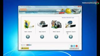 DDR Professional Data Recovery Software to recover deleted photos