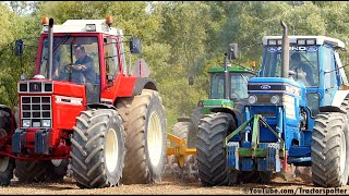Eighties Legends - Ford TW-35 / International 1455 XL / John Deere 4050 | Heavy soil ripping