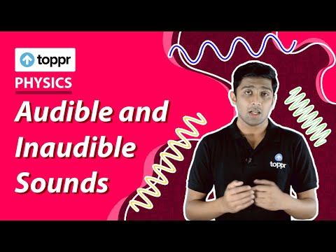 Class 9 Physics: Sound | Audible and Inaudible Sounds