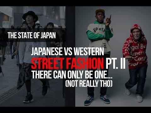 Japanese vs Western Street Fashion Pt  II: You Decide