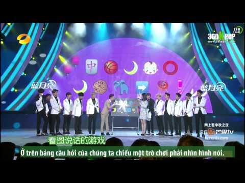 [Vietsub] 140908 Hunan TV Mid-Autumn Festival EXO Cut [EXO Team]