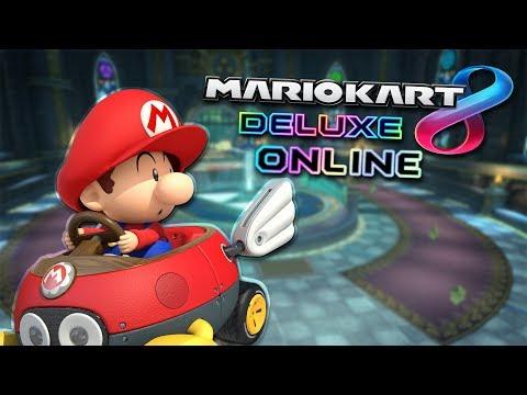 MARIO KART 8 DELUXE ONLINE!