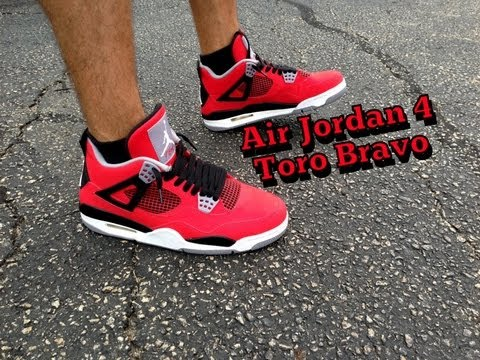 Air Jordan Retro 4 Toro Bravo Review + On Feet