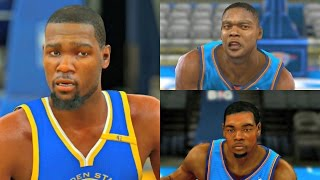 Kevin Durant Player Progression from NBA 2K8 to NBA 2K17! #PS4