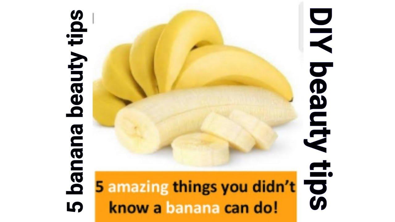 11 banana beauty tips everyone should know - Healthadviceforall.com