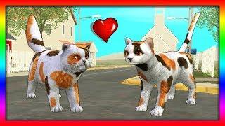 СИМУЛЯТОР Маленького КОТЕНКА #25 НОВЫЕ СКИНЫ кошка ИГРАЕТ с КОТЯТЯМИ ДЕТСКИЕ ИГРЫ