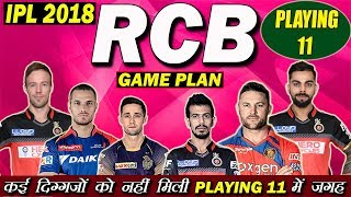 PLAYING 11 OF RCB IN IPL 2018 | EXPECTED PLAYING 11 FOR RCB | IPL 2018