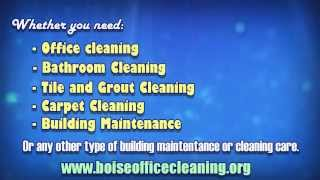 Boise Office Cleaning | (208)-231-1008