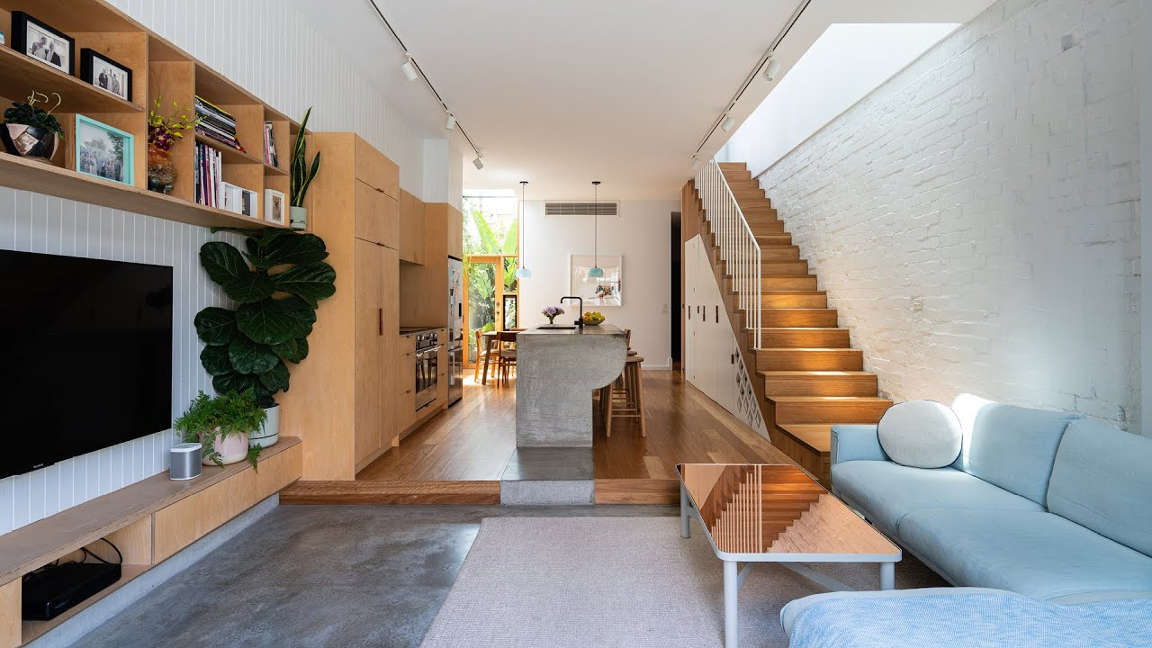 This Designer's Own Melbourne Terrace Home Uses Every Square Millimetre - A Designer's Home ep09