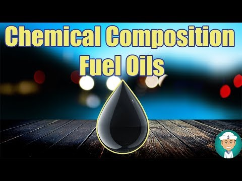 Chemical Composition of Marine Fuel Oils