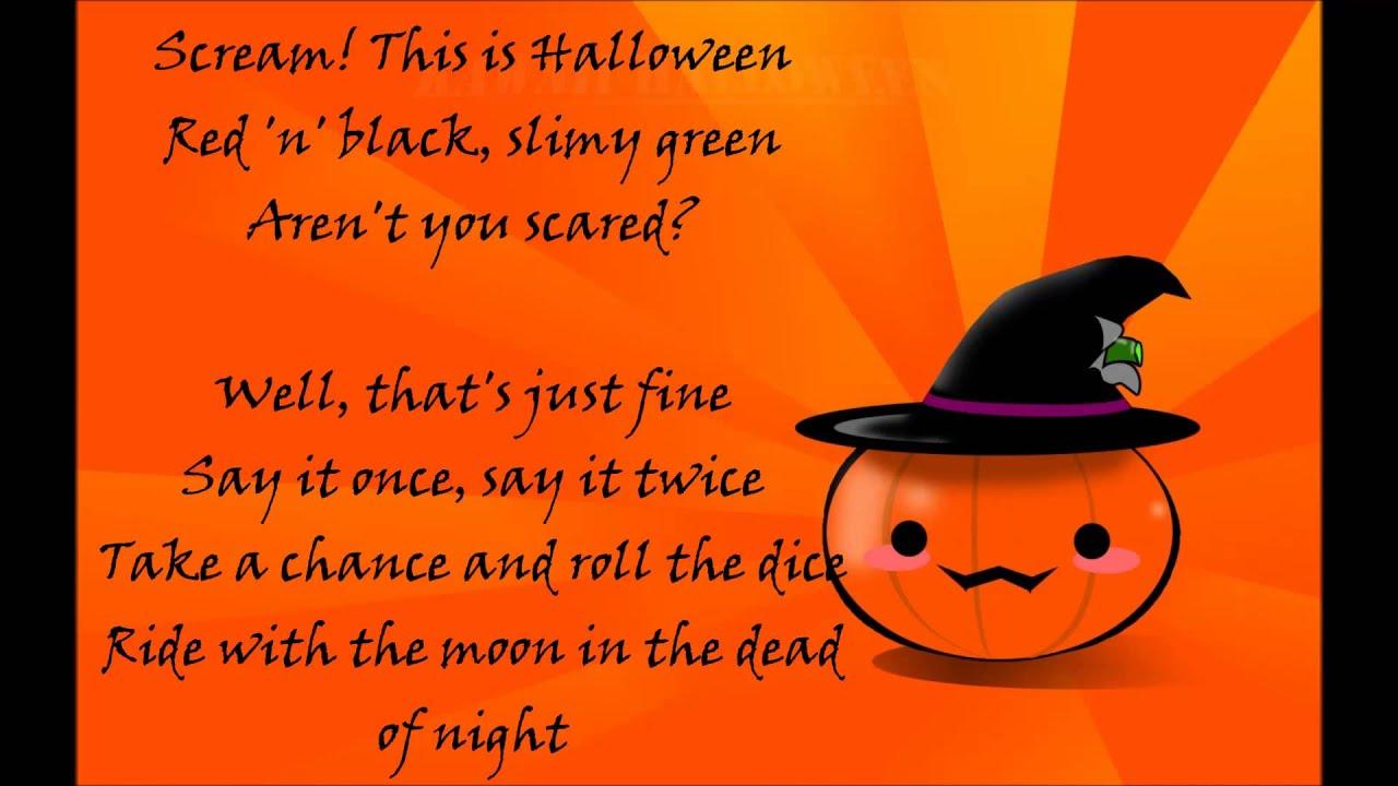 nightcore - this is halloween 【lyrics 】 - youtube