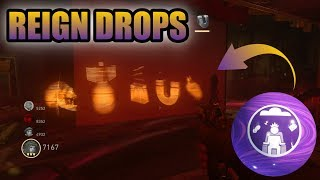 """WWII ZOMBIES - """"THE SHADOWED THRONE"""" HIDDEN REIGN DROPS TUTORIAL! ALL HATS & POSSIBLE LOCATIONS"""