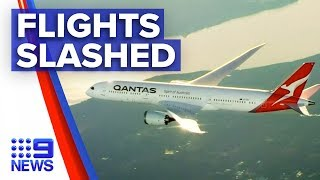 Coronavirus: 90 per cent of Qantas international flights cut