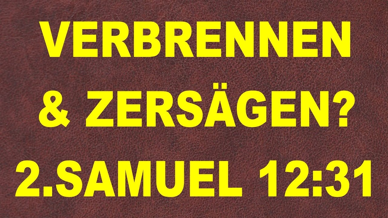 Jesus Vs Mohammed Was Christen Verschweigen 2 Samuel 12