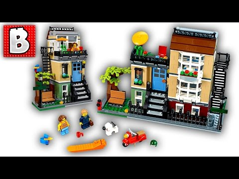 Lego Creator Park Street Townhouse 31065 | Live Build and Review