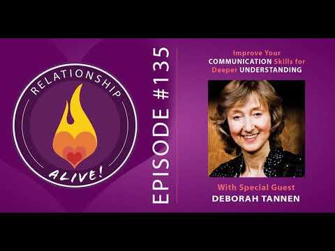 135: Improve Your Communication Skills for Deeper Understanding - with Deborah Tannen