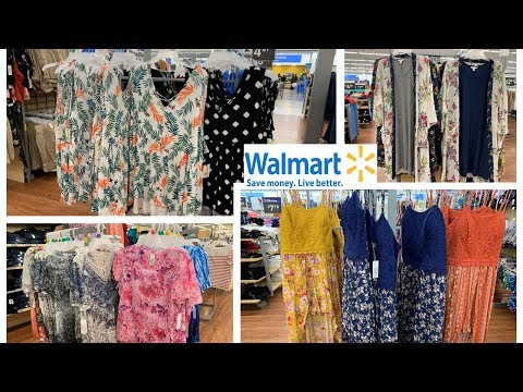 Walmart Clothing Spring Summer Plus Size Dresses | Shop With Me April 2019