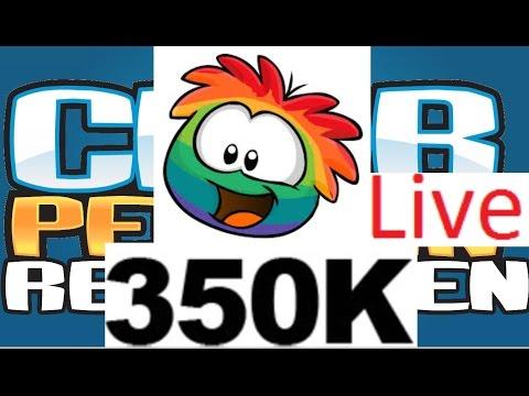 Club Penguin Rewritten 350,000 Player Celebration!!!