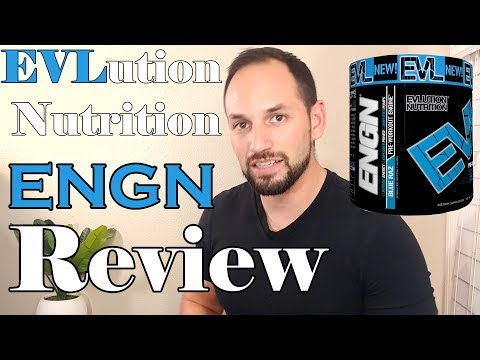 EVL ENGN Pre Workout by Evlution Nutrition  Supplement Review