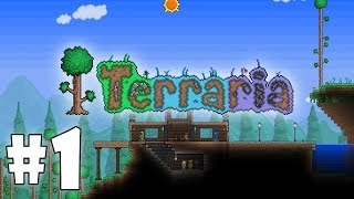 Играем в Terraria #1 - Начало