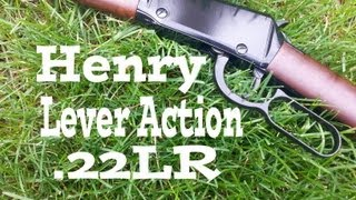 Henry Lever Action .22 Long Rifle Review