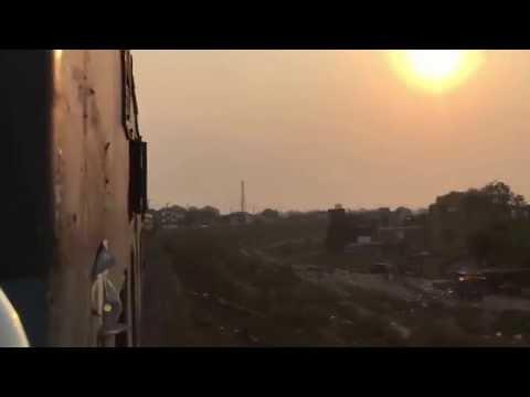 Entering AllahAbad City 11060 Godan Chappra Express