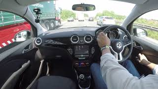 Review And Virtual Video Test Drive In Our Vauxhall ADAM 1 4 i VVT 16v GLAM 3dr VA16XYT 2