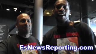 Adrien Broner vs Shawn Porter NY Folks Talk Fight - EsNews boxing