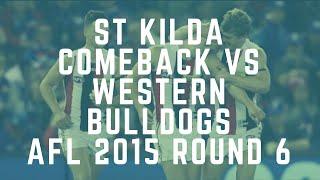 St Kilda Highlights v Western Bulldogs - Record 55 Point Comeback