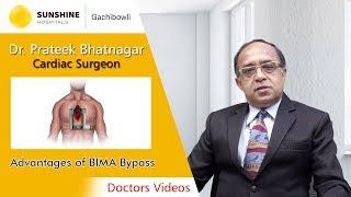 Dr. Prateek Bhatnagar, Chief Cardiac Surgeon talk about Advantages of BIMA Bypass Surgery