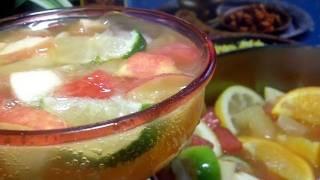 Mumbai Fruit Punch Recipe- From My Indian Kitchen