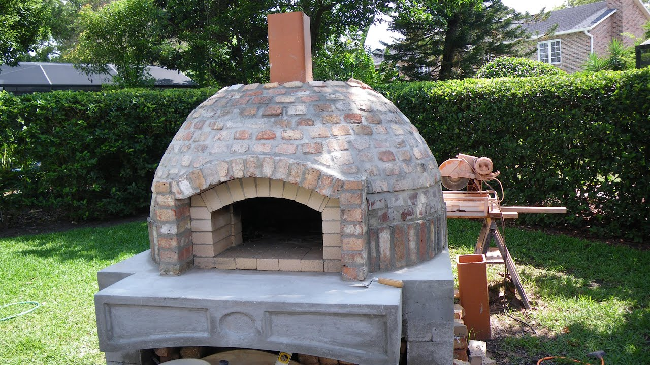 How To Build A Wood Fired Pizza Oven Bbq Smoker Combo