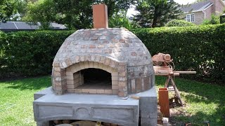 How To Build A Wood Fired Pizza Oven/bbq Smoker Combo - Detailed Instruction - Pt. 3