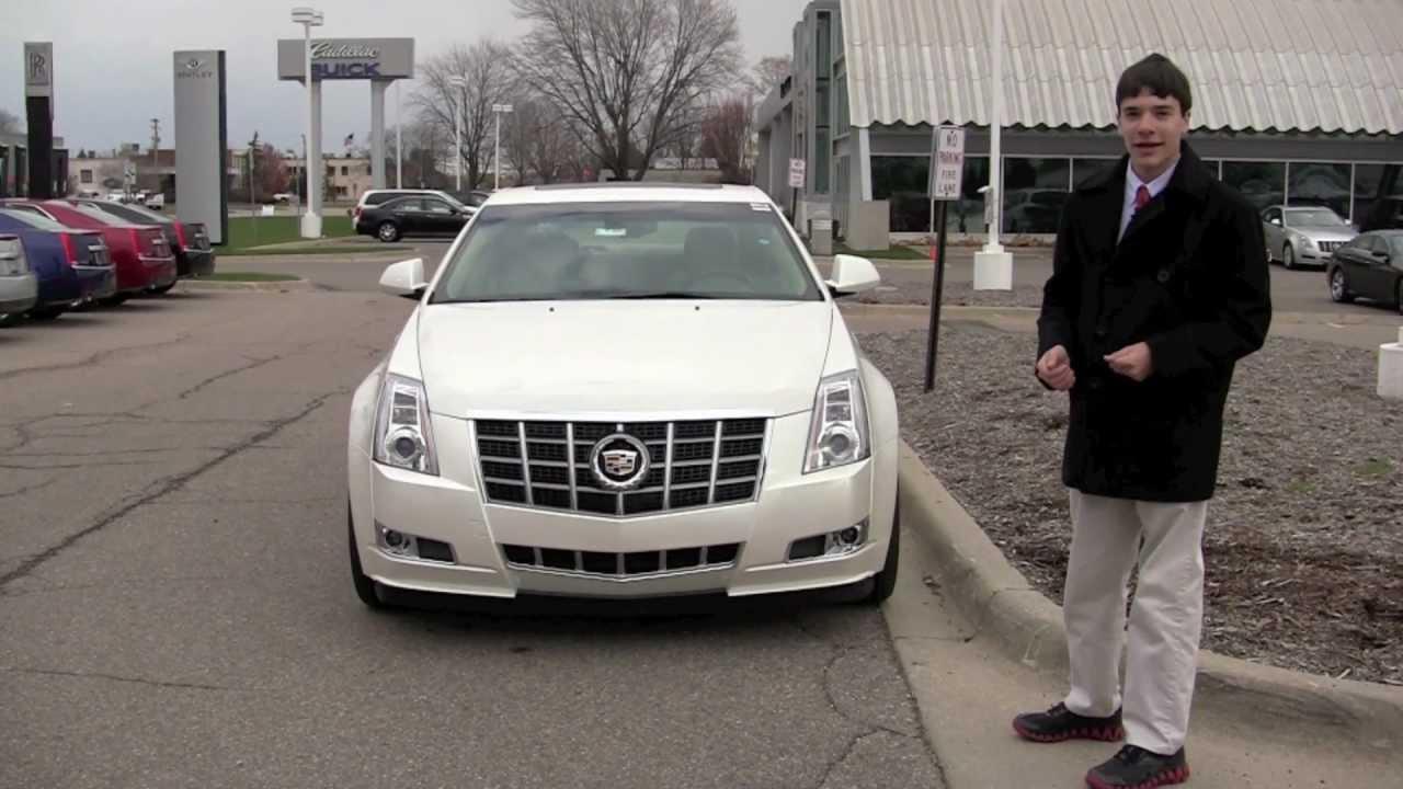 2012 Cadillac CTS - YouTube
