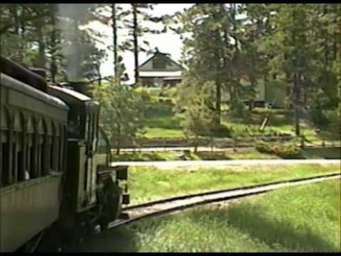 Ride the Black Hills Central Railroad - Hill City, South Dakota