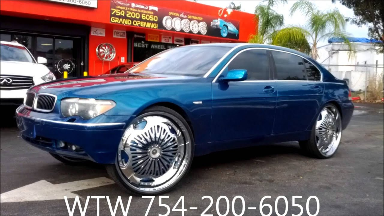 Acewhips Net Wtw Customs Candy Teal Bmw 7 Series On 28