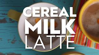 Cereal Milk Latte | Cooking: How-To | Better Homes & Gardens