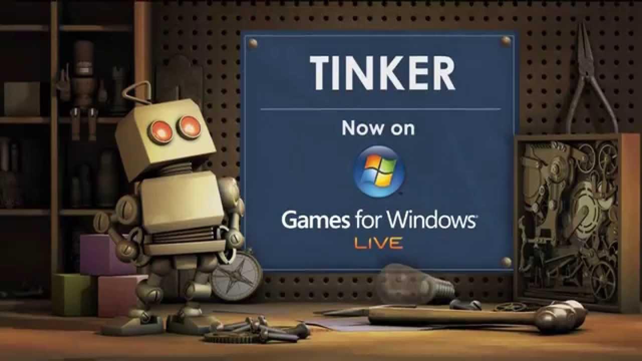 Microsoft Tinker Games For Windows Live Trailer 2009