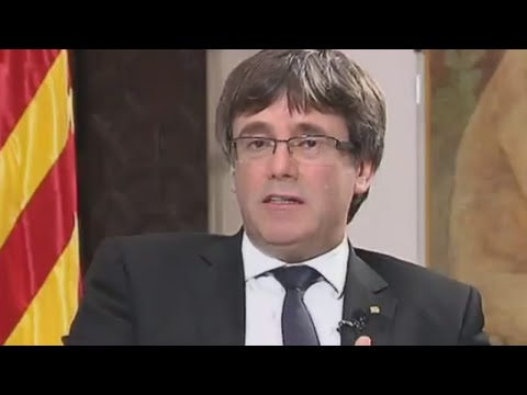'The door is open for dialogue with Madrid,' says Carles Puigdemont
