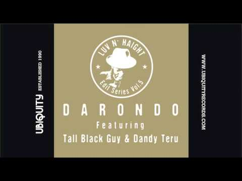 Darondo - I Don't Want To Leave (Tall Black Guy  Re-Edit)