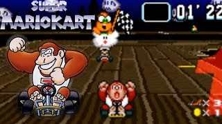 Flower Cup 100cc Grand Prix - Super Mario Kart