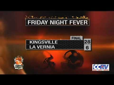 HM King Vs. La Vernia Football Highlights - Friday Night Fever