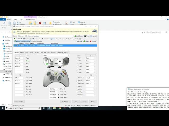 x360ce video, x360ce clip