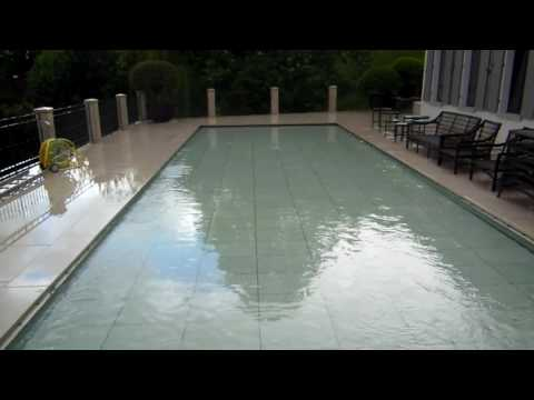Turning a terrace into a pool