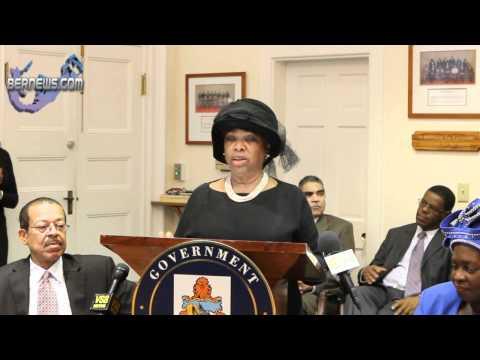 Minister Dame Jennifer Smith's Post Throne Speech Address