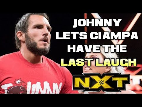 WWE NXT 5/23/18 Full Show Review & Results: JOHNNY GARGANO'S FRUSTRATION COSTS HIM CANDICE LARAE
